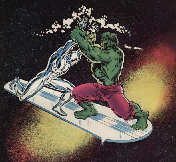 Hero-Envy-Silver-Surfer-vs-Hulk 002